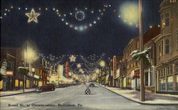 Broad St. at Christmastime