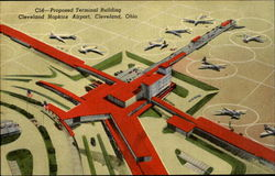 Proposed Terminal Building Cleveland Hopkins Airport