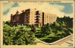 Sacred Heart Hospital Postcard
