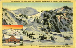 Precipitous Collins Gulch Showing Giant Ski Lift