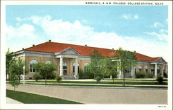Mess Hall, A. &. M. College