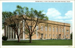 Guion Hall, A & M College