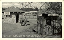 Visitor's Entrance to Fort Lewis, Washington