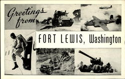 Greetings from Fort Lewis, Washington