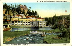 New Troutdale Hotel in Bear Creek Canon Postcard