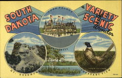 South Dakota a Variety of Scenic Wonder