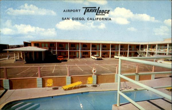 Airport TraveLodge San Diego California Airports
