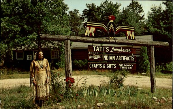Tati's Longhouse / Authentic Indian Artifacts / Crafts & Gifts of Many Tribes Charlestown Rhode Island
