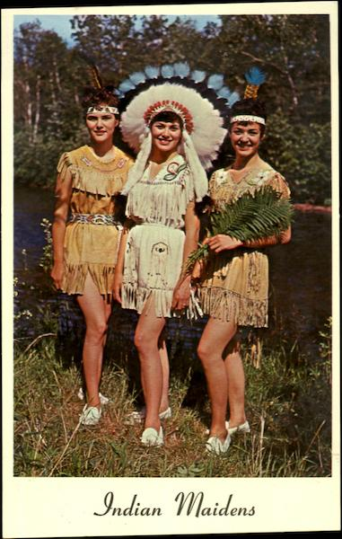 Indian Maidens Native Americana
