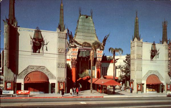 Grauman's Chinese Theatre Los Angeles California