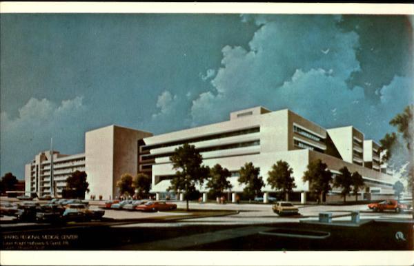 Fort Smith Arkansas Postcard Street View Sparks Memorial