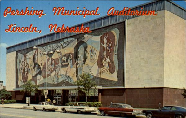 Pershing Municipal Auditorium Lincoln Nebraska