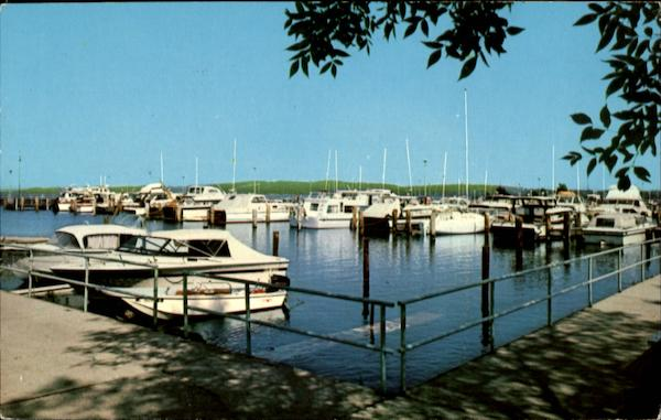 Duncan L. Clinch Yacht Harbor Traverse City Michigan