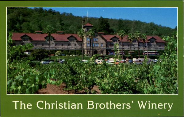 The Christian Brothers' Winery Napa Valley California