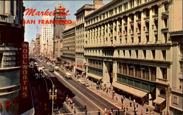 Market Street San Francisco California