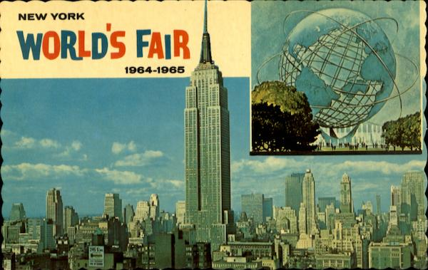 New Yorl World's Fair 1964-1965 New York City