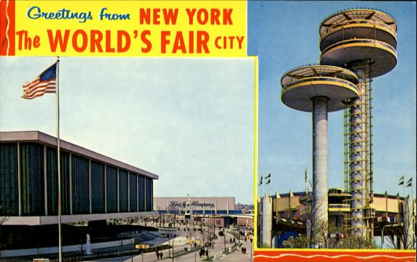 Greetings from New York, The World's Fair City New York City