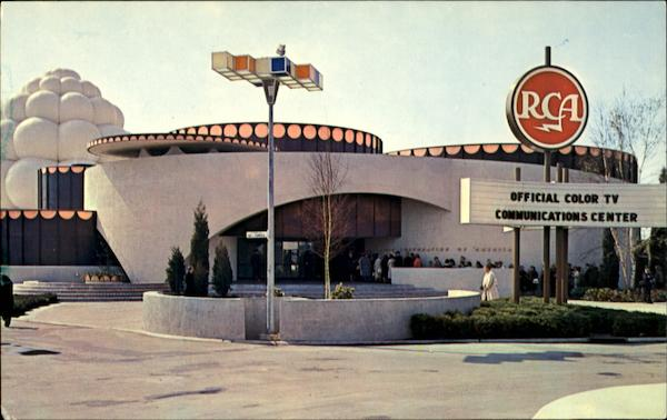 The R.C.A. Pavilion at the World's Fair, N.Y.C New York City