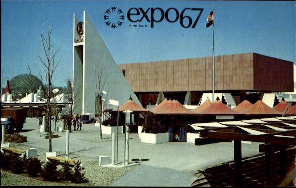 Expo '67 Pavilion of India Montreal Canada Misc. Canada