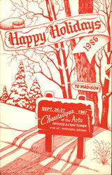 Happy Holidays 1986, Chautauqua of the Arts