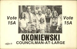 Okoniewski Councilman-At-Large