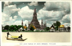 Wat Arun Temple of Dawn Bangkok, Thailkand