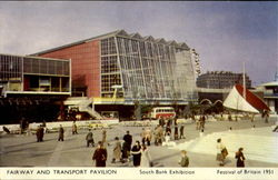 Fairway and Transport Pavilion - South Bank Exhibition