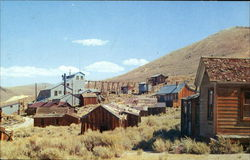 The Standard Mill at the Ghost Town of Bodie, California
