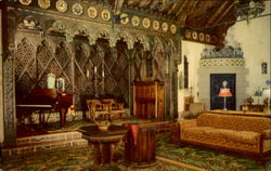 The Music Room of Scotty's Castle