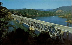 West Branch Bridge over Lake Oroville, Calif California
