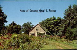 Home of Governor Orval E. Faubus