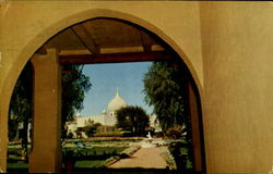 "Through the Archway-Casa blanca Inn ""Arizona's Finest Desert Resort"""