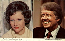 President and Mrs. Jimmy Carter 39th President, United States