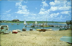 Beach and Sail Boats