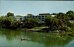 The Gondolier Motel Hotel Postcard