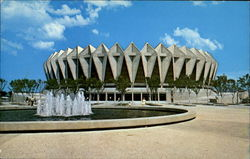 Hampton Roads Coliseum Postcard