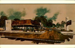 First Bank of Oak Park - Customer Convenience Center Postcard