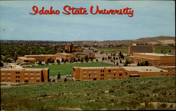Campus of Idaho State University Pocatello