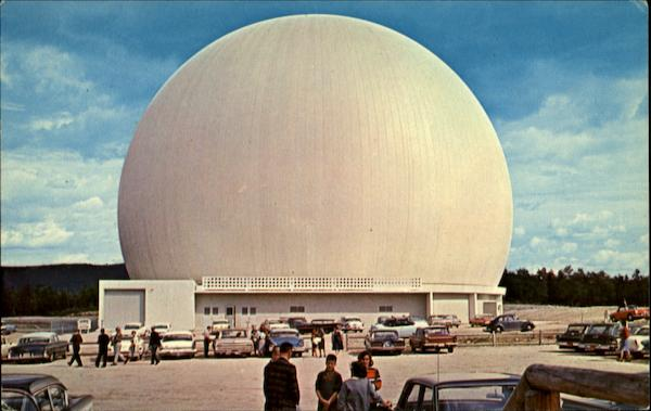 Bell System Space Dome Andover Maine