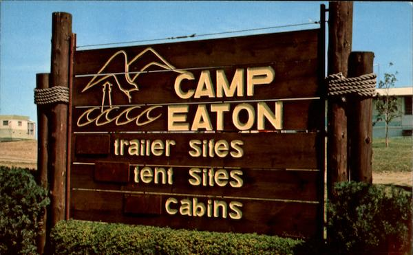 Camp Eaton Trailer Sites Tent Sites Cabins York Harbor Me