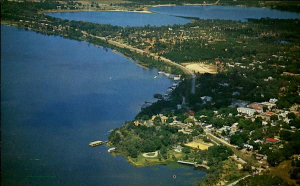 Airview of Mount Dora Florida