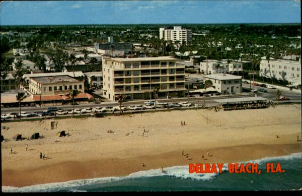 Aerial View of Delray Beach Florida