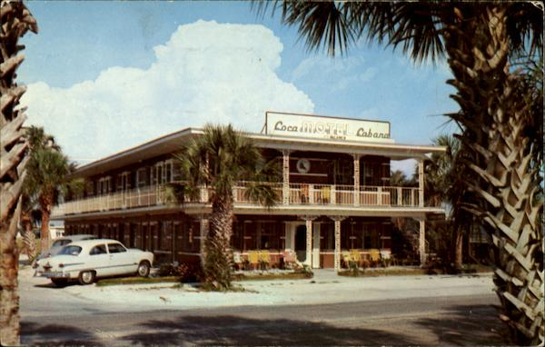 Coca Cabana Motel Clearwater Beach Florida