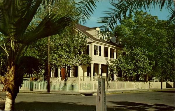 Audobon House and Gardens Key West Florida