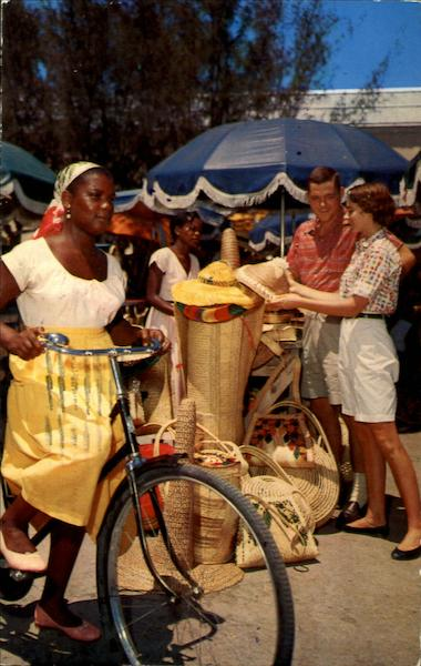Native Straw Market Nassau Bahamas Caribbean Islands