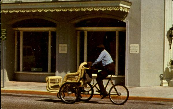A Disappearing Mode of Transportation Palm Beach Florida