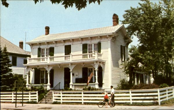 1849 Birthplace and boyhood home of James Whitcomb Riley Greenfield Indiana