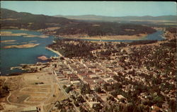 Aerial View of Couer D'Alene, Idaho