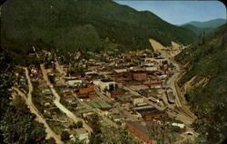 Aerial View of Wallace, Idaho