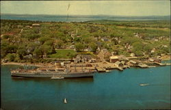 Air View of Castine, Maine